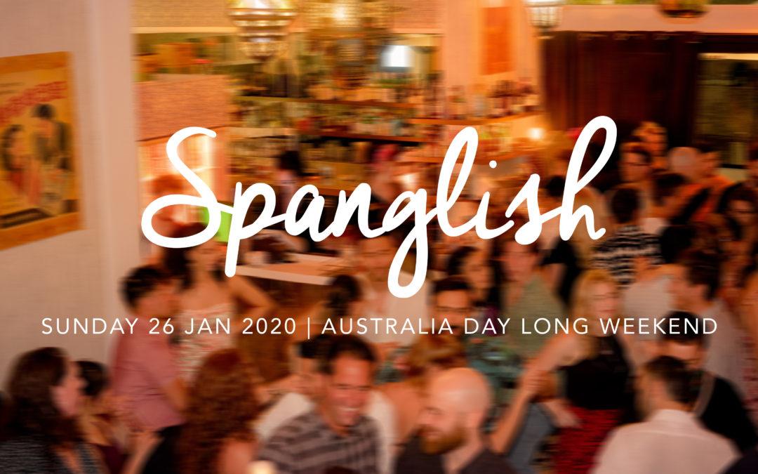 Spanglish Australia Day